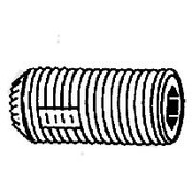 "#10-32x1/2"" Knurled Cup Point Loc-Wel Socket Set Screw Plain (100/Pkg.)"