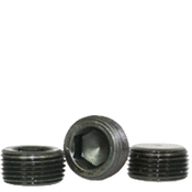 "Image of 1""-11 1/2 Pipe Plugs Alloy Flush-Seal 7/8"" Taper Black Oxide (USA) (25/Pkg.)"