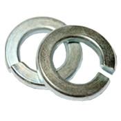 #4 Regular Split Lock Washers Zinc Cr+3 (50,000/Bulk Pkg.)