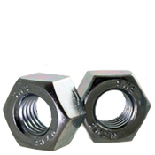 "1 1/2""-8  Heavy Hex Nut, A194/SA194 2H, 8 Pitch, Zinc Cr+3 (150/Bulk Pkg.)"