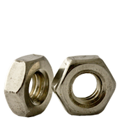 #12-24 Hex Machine Screw Nut, Coarse, Stainless Steel A2 (18-8) (100/Pkg.)