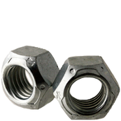 "9/16""-12 All Metal Hex Locknuts Grade C Med. Carbon Zinc & Wax Cr+3 (500/Bulk Pkg.)"