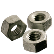 "1 1/4""-7 Heavy Hex Nut, A563 Grade A, Coarse, Hot Dip Galvanized (50/Bulk Pkg.)"