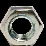 """1 3/8""""-6 Hex Jam Nut, Coarse, Low Carbon Steel  Zinc Cr+3 (100/Bulk Pkg.)"""