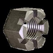"1 3/8""-6 Slotted Heavy Hex Nuts Coarse Plain (30/Bulk Pkg.)"