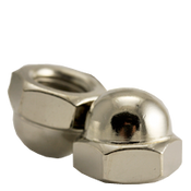 #10-24 Acorn Nut, 2 Piece, Nickel Plated (5000/Bulk Pkg.)