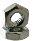 "#2-64x3/16""x1/16"" Hex Machine Screw Nut, Low Carbon Steel, Zinc Cr+3 (100/Pkg.)"