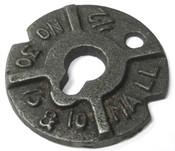 "1-1/4"" Round Malleable Iron Washers Plain (40 Lbs./Bulk Pkg.)"