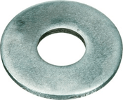 #3 SAE Flat Washers Low Carbon Zinc Cr+3 (100 /Pkg.)