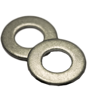 #4 SAE Flat Washers Low Carbon  Plain (100 /Pkg.)