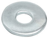 "3/16""X1-1/4"" Fender Washers Zinc Cr+3 (100 /Pkg.)"