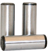 "1""X2-1/2"" Dowel Pins Alloy Thru Hardened (50/Bulk Pkg.)"