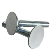 "3/8""-16x2"" (FT) Flat Countersunk Head Elevator Bolts Grade 2 Zinc Cr+3 (350/Bulk Pkg.)"