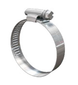 SAE 104 Stainless Steel Worm Drive Hose Clamp