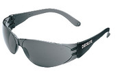 Checklite Safety Glasses, Smoke Frame/Gray Lens (12/Box)