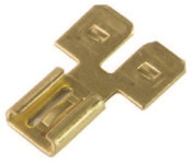 Female/Double Male 3-Way Adapter .250 Tab