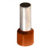 12 GA Ferrule Wire Ends Orange (100/Pkg.)