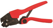 "9"" Ratchet Crimp Tool Insulated 22-10 GA for Female Quick Disconnect"