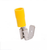 12-10 AWG .250 Stud Vinyl Insulated Piggyback Connectors
