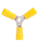 12-10 AWG Vinyl Insulated 3-Way Splice Connectors (100/Pkg.)