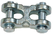 "7/16"" Twin Double Clevis Link, Zinc Plated (15/Pkg)"