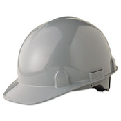 Jackson Safety SC-6 Head Protection, 4-Pt. Ratchet Suspension, Gray (1 Hat)