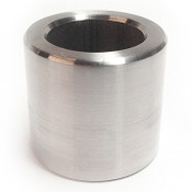 "1/2"" OD x 1/4"" L x #25 Hole Stainless Steel Round Spacer (50/Pkg.)"