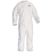 A30 Breathable Particle Protection Coverall Lab Coat, 2XL, White (Qty. 25)