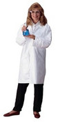 Tyvek Lab Coat, White, Extra Large (30/Case)