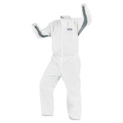 A40 Liquid & Particle Protection Coverall Lab Coats, XL, White (30/Case)