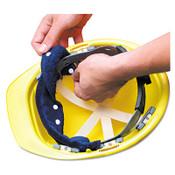 Snap-On Hard Hat Sweatband, Blue (100/Case)