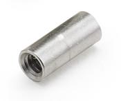 "1/4"" OD x 1-1/4"" L x 4-40 Thread Aluminum Female/Female Round Standoff, Plain (500 /Pkg.)"