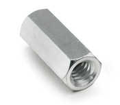 "1/4"" OD x 1/8"" L x 8-32 Thread Stainless Steel Female/Female Hex Standoff (250 /Pkg.)"