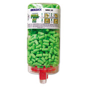 Pura-Fit PlugStation Earplug Dispenser System, Cordless, 33NRR, Bright Green