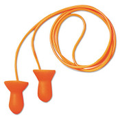 Quiet Multiple-Use Earplugs, Corded, 26NRR, Orange (100 Pairs)