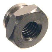 """10-24x1/2"""" Hex Thumb Nuts, Aluminum (50/Pkg.)"""