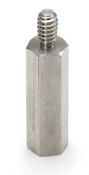 6 mm OD x 17 mm L x M3x.5 Thread Aluminum Male/Female Hex Standoff (500/Bulk Pkg.)