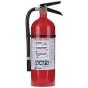 Pro 210 Consumer Fire Extinguisher, 2-A,10-B:C, 100psi, 15.7 h x 4.5 dia, 4lb (Qty. 1)