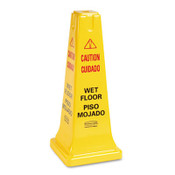 """Caution: Wet-Floor"" Safety Cone"