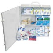 100 Person Commercial First Aid Kit in Metal Case