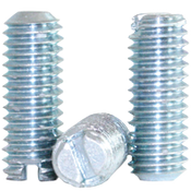 "#10-24x3/4"" Slotted Set Screws Coarse Alloy Case Harden Zinc (100/Pkg.)"
