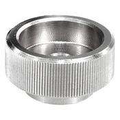 "Kipp 1/2""-13 Knurled Nut, Stainless Steel, DIN 6303 (10/Pkg.), K0137.1A52"