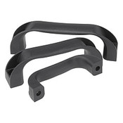 Kipp 9 mm x 117 mm Thermoplastic PP Pull Handle, Front and Rear Mount (1/Pkg.), K0190.211708