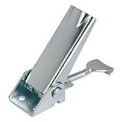 Kipp Adjustable Latch, Screw-on Holes Visible, Steel, Style A - Standard (1/Pkg.), K0046.1420721