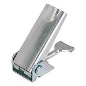 Kipp Adjustable Latch, Screw-on Holes Covered, Steel, Style A - Standard (1/Pkg.), K0047.1420601