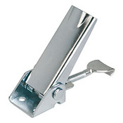 Kipp Adjustable Latch, Screw-on Holes Visible, Stainless Steel, Style A - Standard (1/Pkg.), K0046.1420722