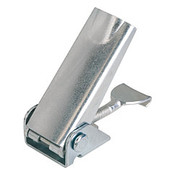 Kipp Adjustable Latch, Screw-on Holes Covered, Stainless Steel, Style A - Standard (1/Pkg.), K0047.1420602
