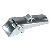 Kipp Adjustable Latch, Screw-on Holes Visible, Steel, Style B - With Safety Catch (1/Pkg.), K0046.2420721
