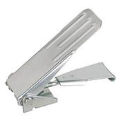 Kipp Adjustable Latch, Screw-on Holes Covered, Grooved Top, Steel, Style A - Standard (1/Pkg.), K0049.1631161