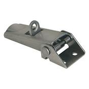 Kipp Adjustable Latch, Screw-on Holes Visible, Steel, Style C - For Padlock (1/Pkg.), K0046.3420721